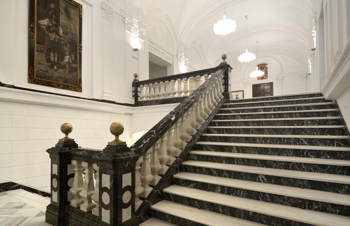 Escalera del Consejo Consultivo de Andalucía