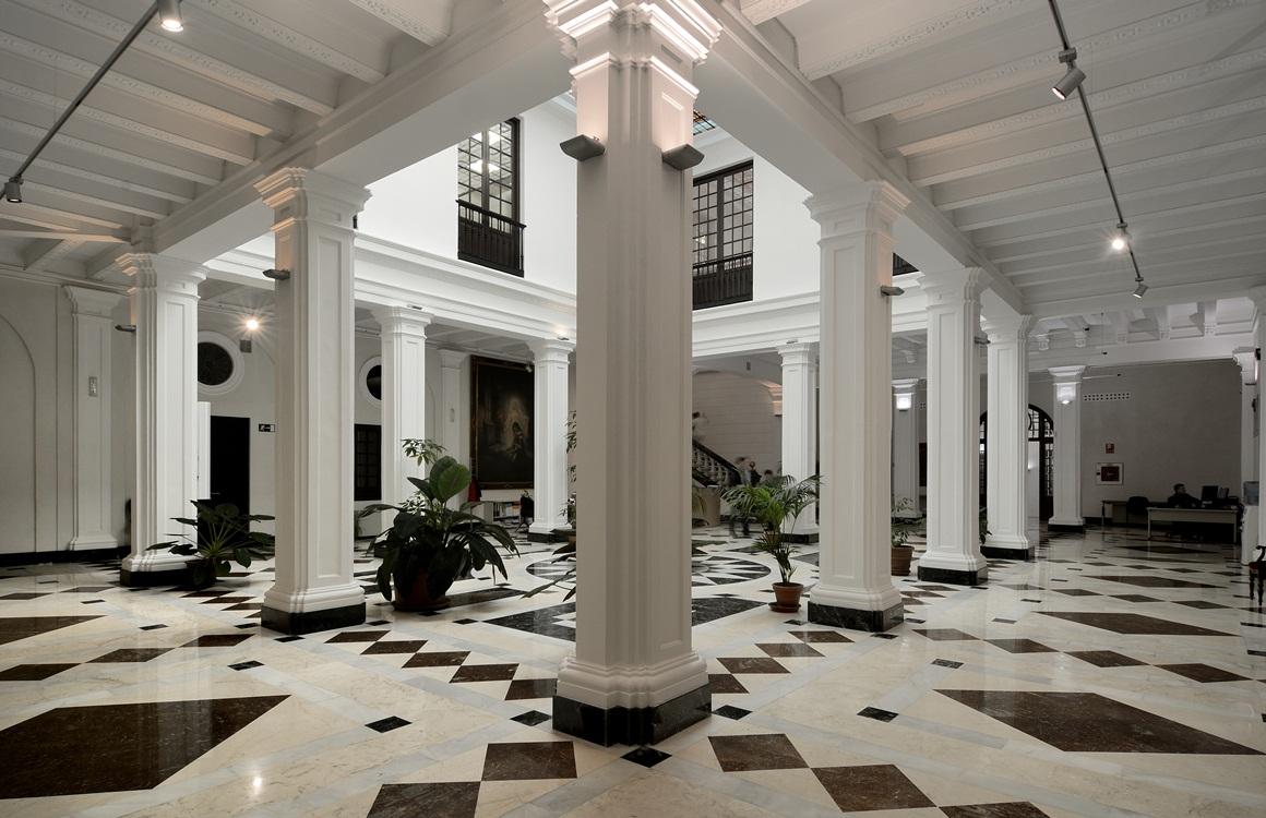 Patio del Consejo Consultivo de Andalucía
