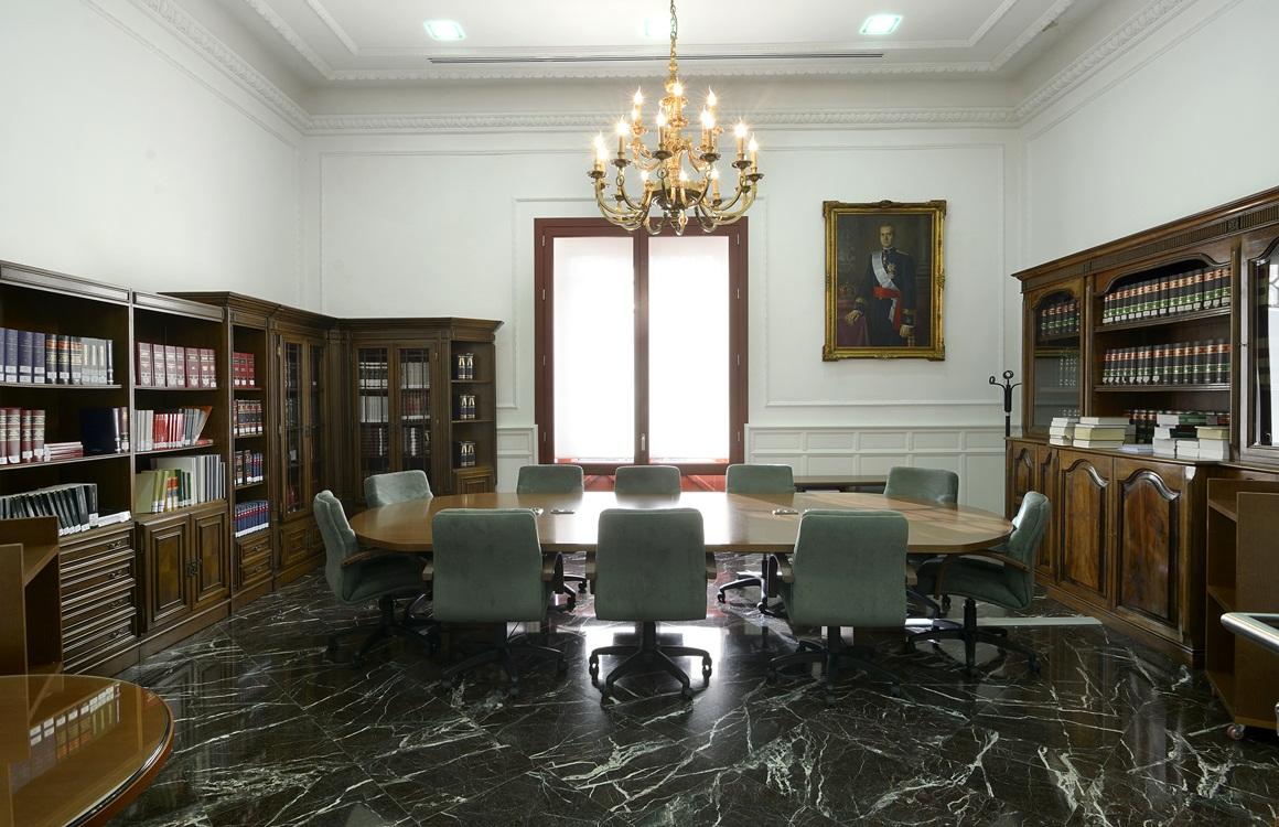 Sala de reuniones del Consejo Consultivo de Andalucía