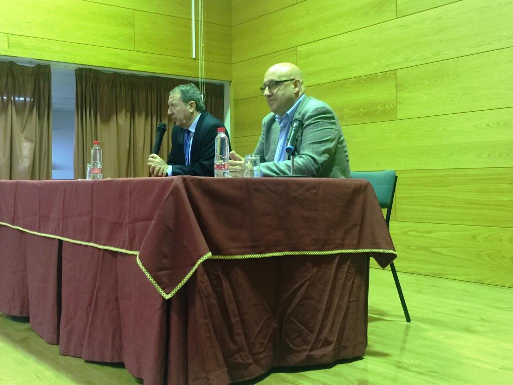 Conferencia en el IES Padre Poveda de Guadix