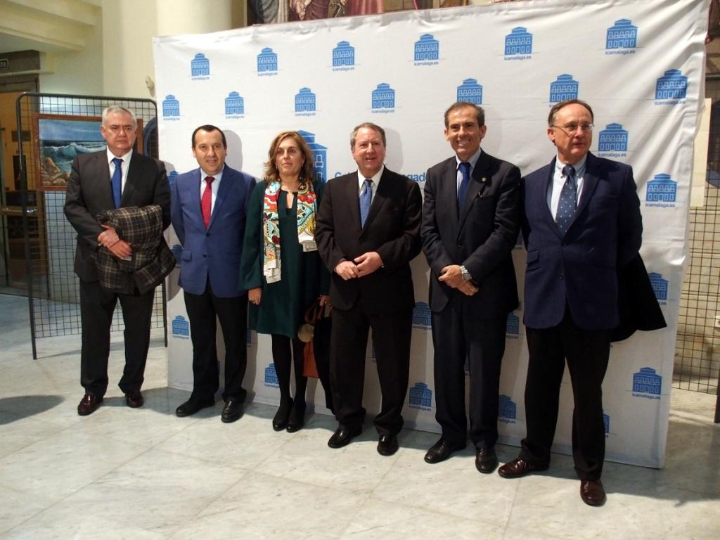 Encuentro en el Colegio de Abogados de Málaga con el presidente del Consejo Consultivo.