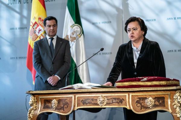 María Jesús Gallardo, presidenta del Consejo Consultivo de Andalucía..