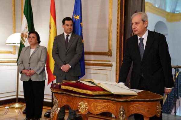 Antonio Dorado Picón, nuevo consejero del Consejo Consultivo de Andalucía.