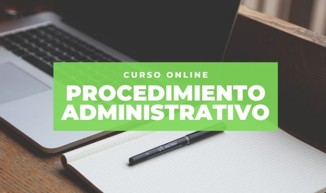 formación online procedimiento administrativo