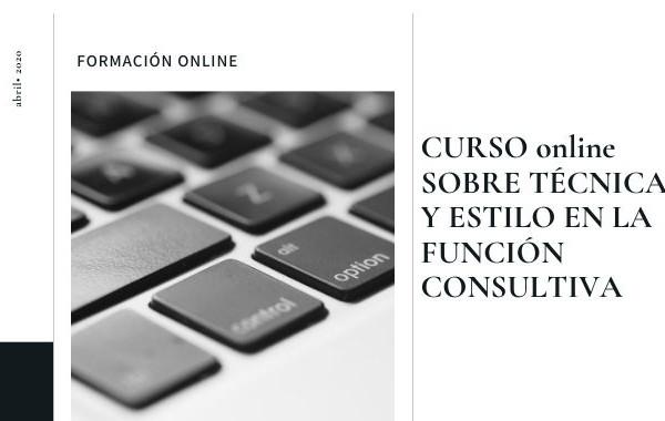 Imagen Curso Técnica y Estilo en la Función Consultiva