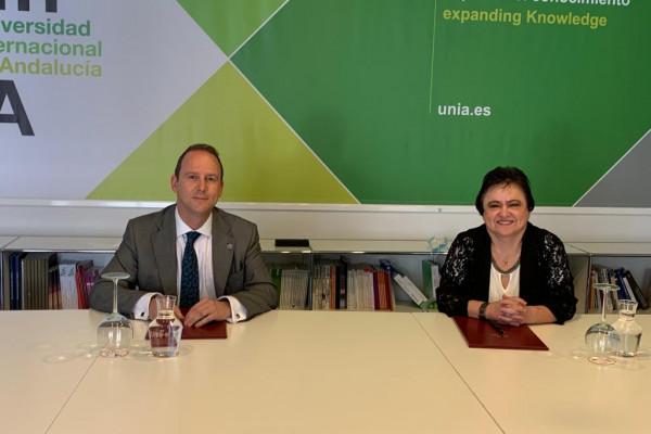 El Consejo Consultivo firma un convenio de colaboración con la UNIA para promover la formación académica