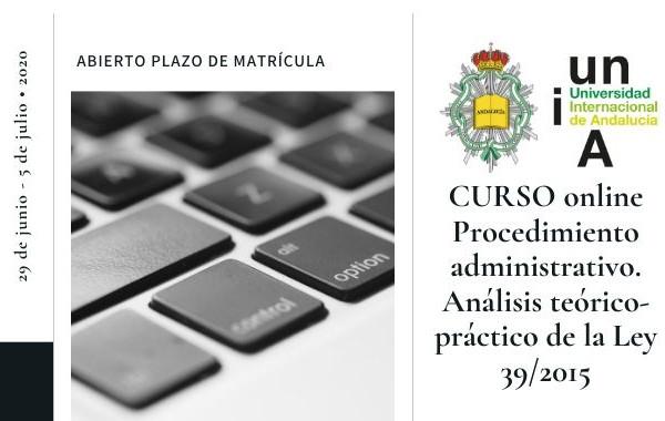 El Consejo y la UNIA organizan un curso sobre procedimiento administrativo – matrícula abierta
