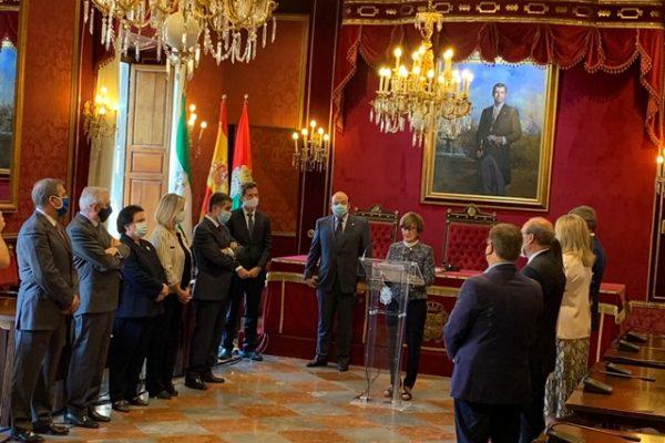 El Consejo Consultivo participa en el homenaje a Luis Portero en el XX aniversario de su asesinato