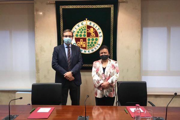 El Consejo Consultivo de Andalucía y la UJA afianzarán su relación con la firma de un nuevo convenio formativo