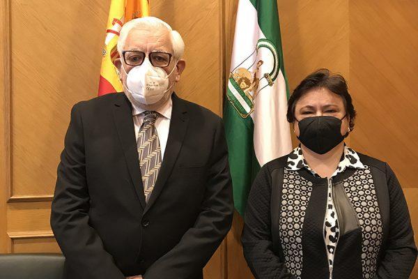 El decano de la Facultad de Derecho de Granada visita el Consejo Consultivo